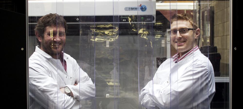 SolarWhite Lab Opening