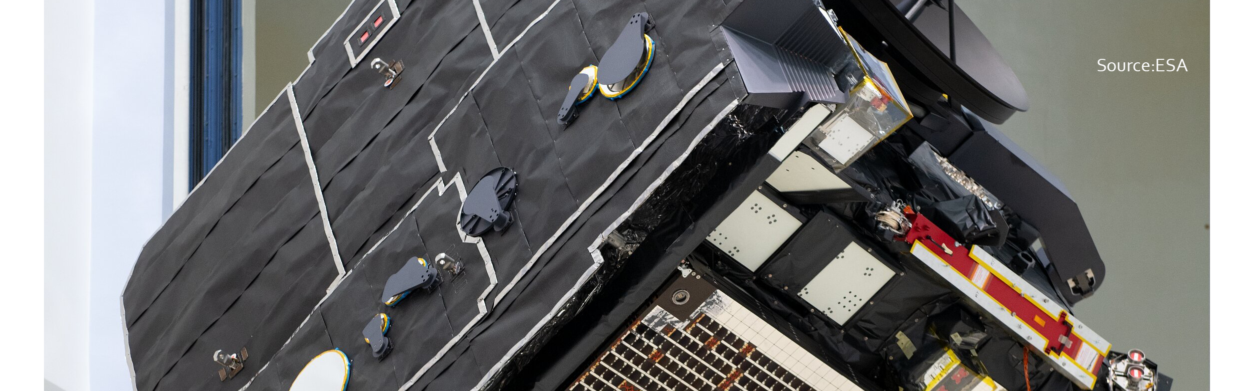 Solar Orbiter moves to launch site – complete with Enbio's SolarBlack coated heatshield!